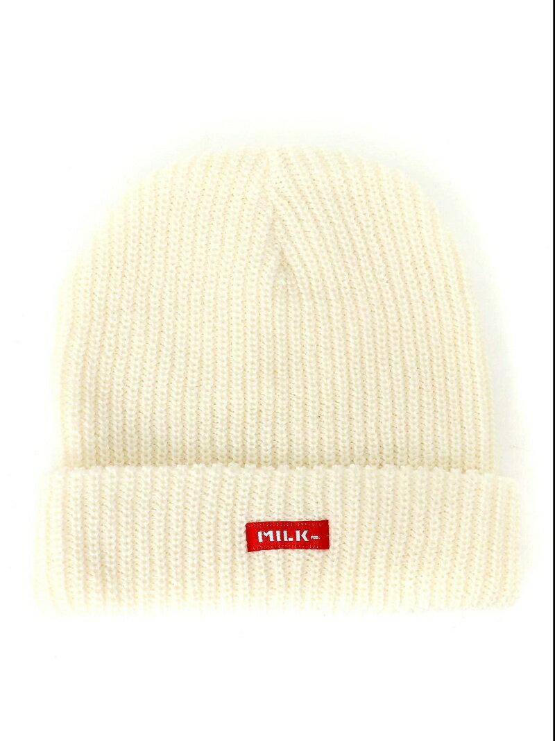 MILKFED. BASIC KNIT CAP ミルクフェド 帽子/ヘア小物