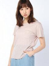【WEGO】【Tシャツ】(L)リネンモダールUネックT(S)