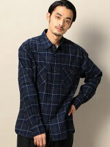 <SHUTTLE NOTES> WINDOW CHECK SHIRT/シャツ