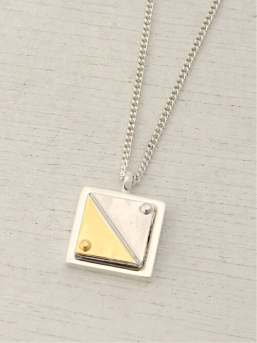 Ayler/(U)Square Plate necklace