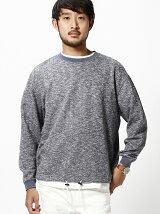 BEAMS / スラブ ワイド スウェットシャツ