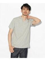 【汗染み防止・防菌防臭】VネックTシャツ