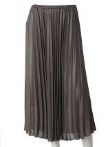 《ef-de》ロングプリーツスカート