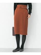 ウールポンチタイトスカート