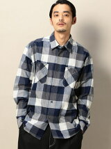 <SHUTTLE NOTES> BLOCK CHECK SHIRT/シャツ