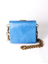 metal clasp chainshoulder bag