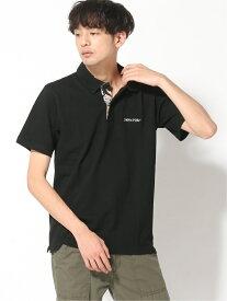 【SALE/30%OFF】DOUBLE STEAL ALOHA Polo ダブルスティール カットソー ポロシャツ ブラック【送料無料】
