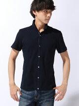 2枚衿半袖シャツ