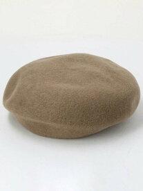 【SALE/40%OFF】BEAUTY & YOUTH UNITED ARROWS BYシンプルフラットベレー帽 ビューティ&ユース ユナイテッドアローズ 帽子/ヘア小物 ベレー帽 ベージュ ブラック グレー ピンク