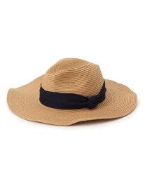 【SALE/60%OFF】SHOO・LA・RUE ペーパー混キャペリンハット シューラルー 帽子/ヘア小物 ハット ブラウン ベージュ