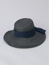【SALE/50%OFF】Le Vernis (L)CASSELINI タックHAT ニーム 帽子/ヘア小物 ハット ブラック ベージュ