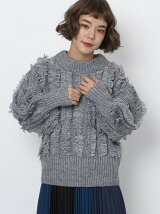 SHAGGY KNIT TOP