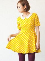 Spot on mini Dress