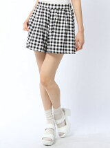 【WEGO】(L)プリントタックキュロット