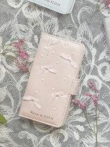 ランダムパールリボンiPhone7ケース