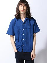 (M)ZIP FIVE オープンカラー半袖シャツ
