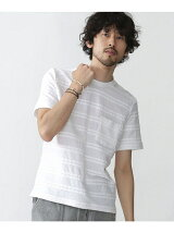 //ロープJQDボーダーTシャツ