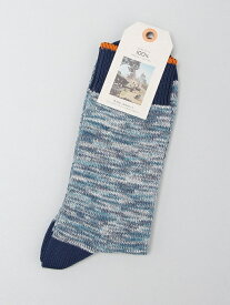 nudie jeans nudie jeans/(M)Rasmusson ヌーディージーンズ / フランクリンアンドマーシャル ファッショングッズ ソックス/靴下 ブルー レッド