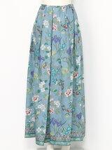 花鳥更紗ローンロングスカート