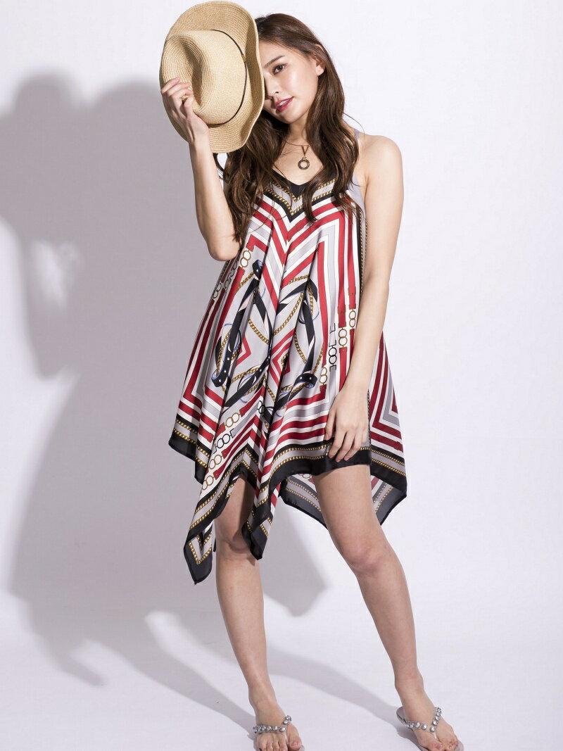 【SALE/30%OFF】スカーフワンピース[DRESS/ドレス] ミリオンカラッツ ワンピース【RBA_S】【RBA_E】【送料無料】