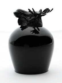 ANIMAL WINE GLASS-REINDEER