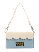 FRAPBOIS/SCALLOP BAG WHITE