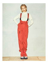 Suspender Taperd Pants