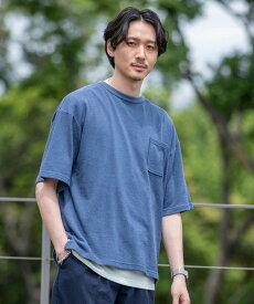 【SALE/68%OFF】coen 【2セットアイテム】ナシジリアルレイヤードTシャツ コーエン カットソー Tシャツ ネイビー ブラック ベージュ