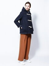 HEART QUILTED DUFFLE COAT