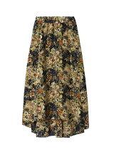 《ROBE》フラワープリントフィッシュテールスカート