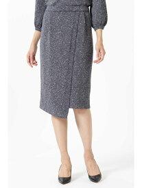 【SALE/55%OFF】ニットセットアップラップタイトスカート ナチュラルビューティー スカート【RBA_S】【RBA_E】【送料無料】