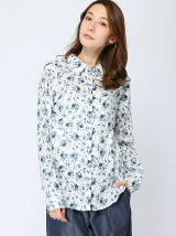 (W)パターンカラーシャツ・ブラウスB