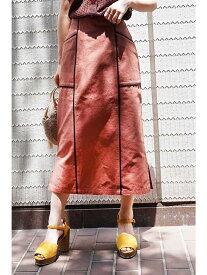 【SALE/20%OFF】FREE'S MART ◆パイピングIラインロングスカート フリーズ マート スカート スカートその他【送料無料】
