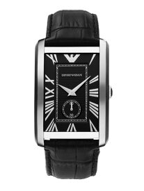 EMPORIO ARMANI EMPORIO ARMANI/(M)MARCO ウォッチステーションインターナショナル ファッショングッズ 腕時計 ブラック【送料無料】