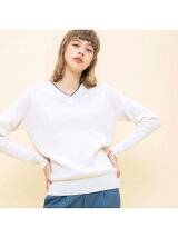 COLOMBES WAFFLE PULLOVER