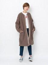FLUFFY LONG COAT