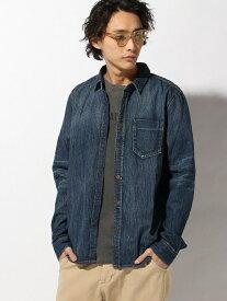 【SALE/40%OFF】nudie jeans nudie jeans/(M)Henry ヌーディージーンズ / フランクリンアンドマーシャル シャツ/ブラウス 長袖シャツ ブルー【送料無料】