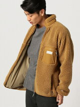 RUSSELL ATHLETIC × B:MING by BEAMS / 別注 ボアジップブルゾン BEAMS ビームス ラッセルアスレティック