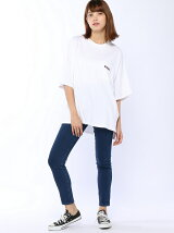 BIG TEE & SKINNY PANTS SET
