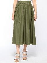 スパンボイルロングスカート