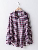 【UVケア】チェックシャツ