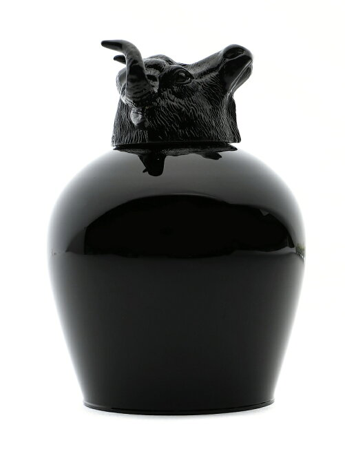 ANIMAL WINE GLASS-COW