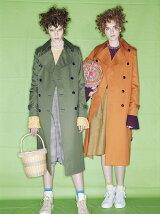 ultimate pima twillskinny trench coat