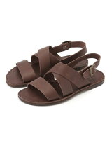 HERISSON/LEATHER SANDAL BACK STRAP