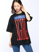 USA DROP SHOULDER S/S TEE