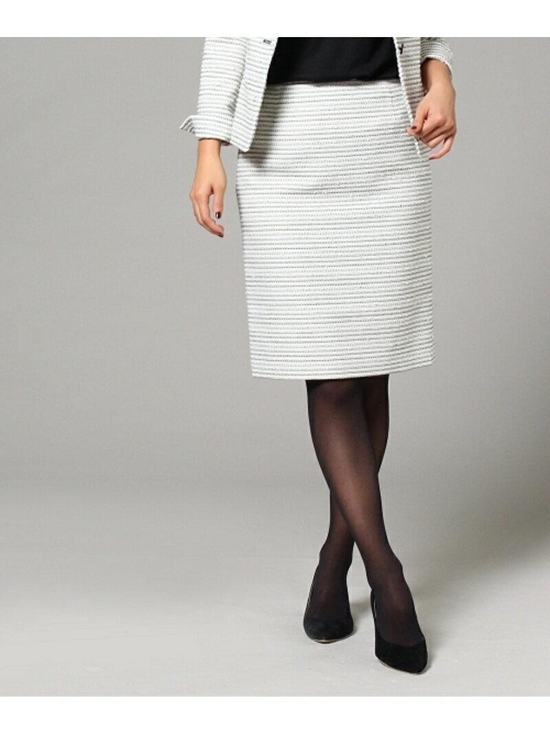 【SALE/70%OFF】UNTITLED ファンシーツイードタイトスカート アンタイトル スカート【RBA_S】【RBA_E】【送料無料】