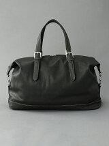 (M)オティアス/オイルワックス仕上げタイプ合皮ボストンバッグ