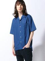 オープンカラービッグシャツ