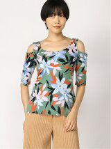 (W)HALF SLV COLD SH FRIDA TOP