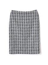 (36〜42サイズ)ツイードセットアップスカート